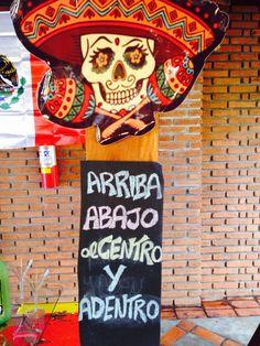 Caveira mexicana, placa de tequila!!!