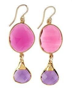 Devon Leigh - Hydroquartz Drop Earrings - Last Call