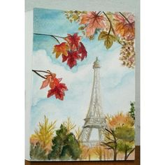 My Paris in Autumn watercolor painting.Not sure if i should add details or not, how do you like it?  #drawing #ilovedrawing #sketching #ilovesketching #painting #ilovepainting #pariswatercolor #watercolors #watercoloring #acquerelli #parisinautumn #brushpen #parislove  #watercolorpaper #dipingere #dipinto #dipintoamano #sketchbook #draw #disegno #disegnare #arte #art #creatività #creativity #autumnleaves #creativeday #craftlife #crafttime #paperlove