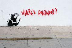 'Where's Hollywood?', Banksy