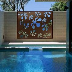Alyio - Metal Laser Cut Screens - Outdoor Screens & Wall Features - Watergarden Warehouse