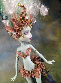 """Dulcinea"" OOAK Monster High Custom Fairy Doll by Renee Coughlan of One & Only Dolls http://www.oneandonlydolls.com/index.htm"