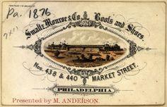 Ephemera - Advertisement - Calling card - Smaltz, Monroe  Boots and Shoes