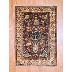 @Overstock.com - With a distinctive style, a gorgeous area rug from Afghanistan will add some splendor to any decor. This Oushak vegetable dye area rug is hand-knotted with a geometric pattern in shades of brown, ivory, navy and peach.http://www.overstock.com/Worldstock-Fair-Trade/Afghan-Hand-knotted-Tribal-Vegetable-Dye-Brown-Ivory-Wool-Rug-4-x-6/7356508/product.html?CID=214117 $499.99