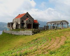 Studio of artist, Pacita Abad on Batanes Island, Philippines Philippines Tourism, Visit Philippines, Wonderful Places, Beautiful Places, Batanes, Studio Build, Tourist Spots, Months In A Year, Pinoy