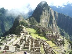 It is seriously my biggest dream to go to Machu Pichu.  Post MSU trip? Who's coming?!