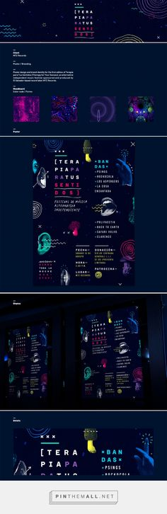 Posters / 2015 on Behance - created via https://pinthemall.net