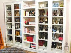 Dream shoe cabinet! Love it!