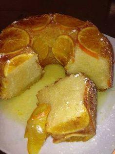 Bolo de laranja molhado – Veja isso