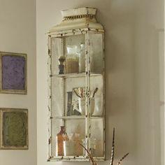 Vintage Bathroom Wall Cupboard Cabinet Display Storage Box Metal ...