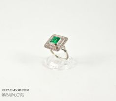 #emerald #platinum #finejewellery #bridal #luxury #princess #diamonds www.eltaxador.com