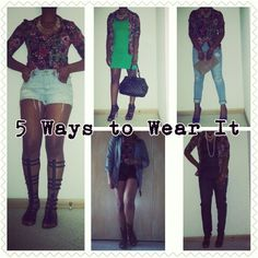 5 Ways to Wear It #5wtw