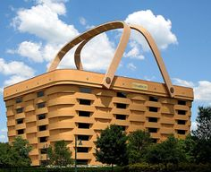 "The Basket Building, Zanesville, Ohio  If we worked there - we could be ""basket cases""... lol"
