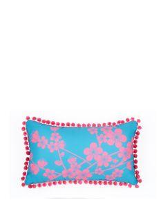 Fearne Cotton Havana Printed Pom Pom Cushion | very.co.uk