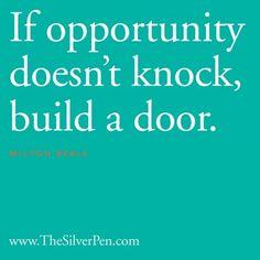 Just build a door.