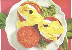 Eggs Benedict ((Better Homes and Gardens Lunches and Brunches, 1963)