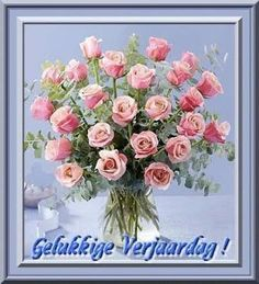 Gelukkige Verjaarsdag Happy Birthday Wishes Quotes, Happy B Day, Word Families, Birthday Images, Afrikaans, Floral Wreath, Birthdays, Anniversary, Cards