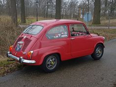 My vintage Fiat 600 Rallye