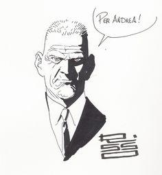 Risso - Agent Graves Sketch Comic Art