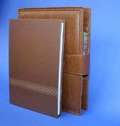 d18a58bab672 Cancer Treatment Organizer & Planner - Two Piece in Brown - Survivor Room