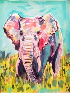 Elephant by Evelyn Henson
