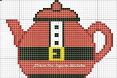 Santa Cross Stitch, Cross Stitch Cards, Counted Cross Stitch Patterns, Cross Stitching, Cross Stitch Embroidery, Machine Embroidery, Plastic Canvas Christmas, Plastic Canvas Crafts, Plastic Canvas Patterns