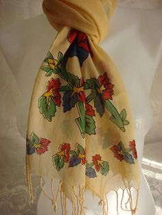 Tulbent  Cotton Scarf by mmelike on Etsy, $11.00