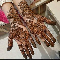 Mehndi Designs Front Hand, Modern Henna Designs, Latest Arabic Mehndi Designs, Latest Bridal Mehndi Designs, Full Hand Mehndi Designs, Henna Art Designs, Mehndi Designs 2018, Mehndi Designs For Beginners, Mehndi Designs For Girls