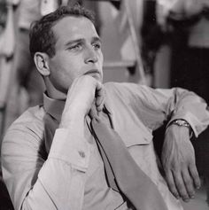 """""Paul Newman on the set of The Young Philadelphians "" "" The Young Philadelphians, Paul Newman Joanne Woodward, Bright Blue Eyes, Sir Paul, Carole Lombard, Humphrey Bogart, Lauren Bacall, Classy Men, Marlon Brando"