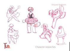 Making of Fur by vincent nghiem. Things I did on my 2011 graduation film at Gobelins.