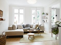 my scandinavian home: White and grey Gothenburg home tour