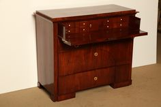 19th Century Biedermeier Chest, Butlers Desk | From a unique collection of antique and modern commodes and chests of drawers at https://www.1stdibs.com/furniture/storage-case-pieces/commodes-chests-of-drawers/