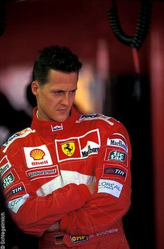 My favorite pic of Michael Schumacher.