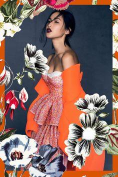 ideas fashion collage photography for 2019 Fashion Graphic Design, Graphic Design Inspiration, Style Inspiration, Flower Graphic Design, Photomontage, Fashion Collage, Fashion Art, Gary Pepper Girl, Grafik Design