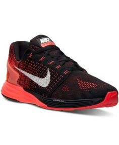 separation shoes 47e64 5a2d5 Nike Mens LunarGlide 7 Running Sneakers from Finish Line - Black 9.5 Nike  Lunarglide, Running