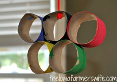 The Iowa Farmer's Wife: 3 Olympic Ring Activities @ http://www.theiowafarmerswife.com/2012/07/3-olympic-ring-activities.html