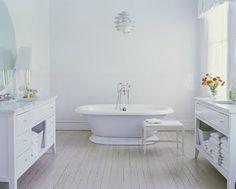 Great Art Decoration: White Bathroom Design