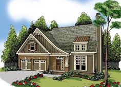 Elevation of House Plan 72602