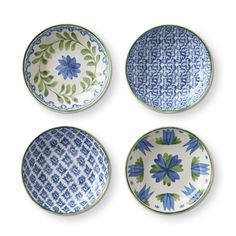 AERIN Ardsley Mixed Dip Bowls, Set of 4