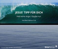 Jesus' Tipp für dich | Lies den Bibelvers auf #BibleServer nach | Markus 5,36