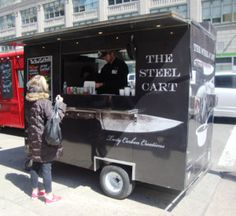 steel food cart - Google Search