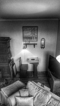 Writing corner.