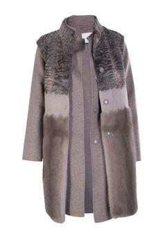 Пальто MANZONI 24, (цвет: коричневый) - купить по цене 375900 рублей - Elyts.ru
