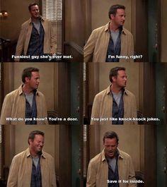 Friends - Chandler's jokes :)