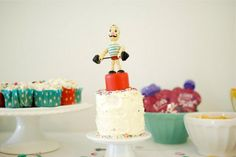 Strongman cake. . .by the sweetest occasion