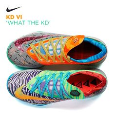 Nike KD VI 'What the KD' sweet basketball shoes