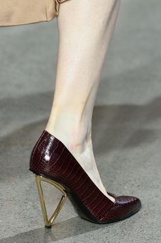 "wgsn: ""The shoes were on point at the @JasonWu show. """