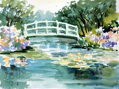 watercolor paintings like Monet - Google Search