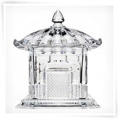 Godinger 7H in. Pagoda Covered Glass Box $30