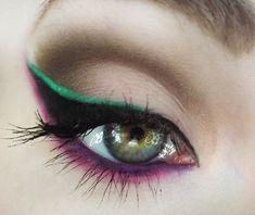 Inspiring Collection of Creative Eye Make-Up Love Makeup, Makeup Tips, Beauty Makeup, Makeup Looks, Beauty Tips, Beauty Book, Amazing Makeup, Photo Makeup, Crazy Makeup